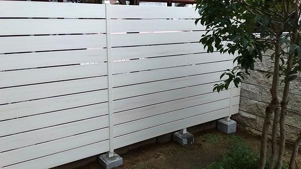 大阪府大阪市で施工した独立フェンス