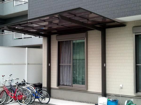 大阪府藤井寺市で工事したカーポート