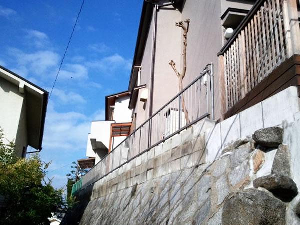 奈良県奈良市で施工したYKKフェンス