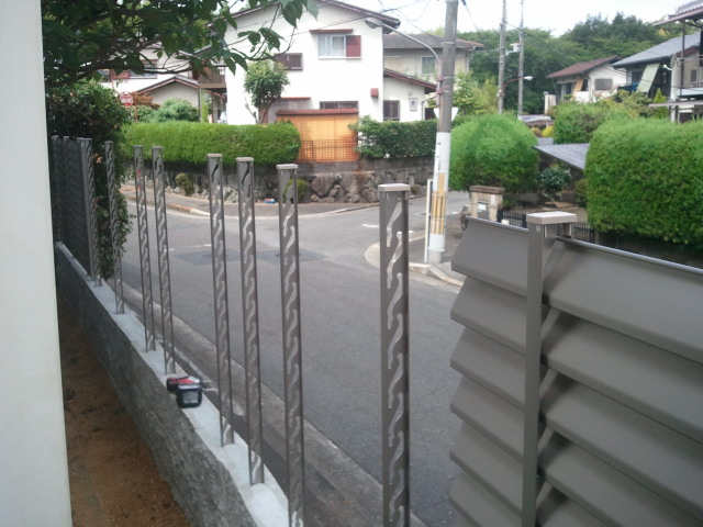河内長野市のブロック工事