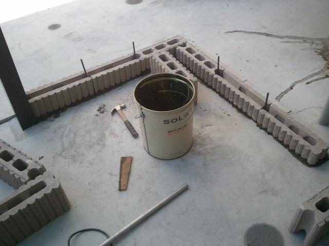 寝屋川市でブロック工事
