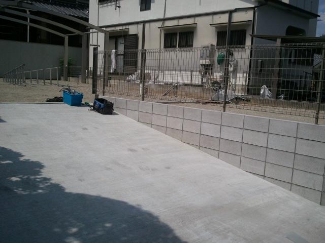 河内長野市で外構工事