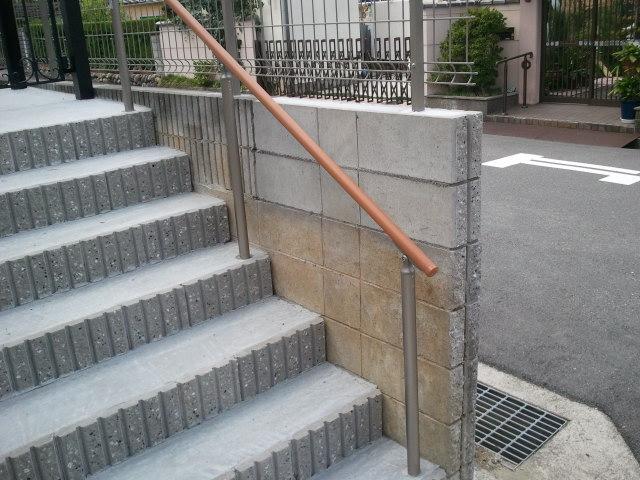 河内長野市でブロック工事