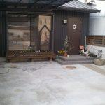 大阪市でガレージ工事